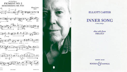 A helpful guide to recognizing Elliott Carter at your local coffee shop.